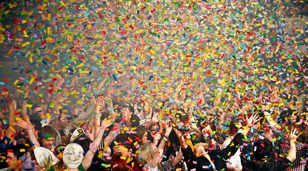 Comfetti σε πάρτυ