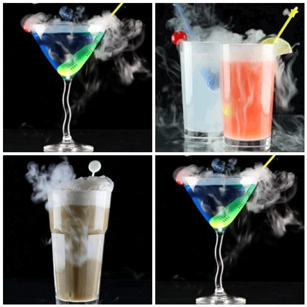Διάφορα Cocktails με MystiStix
