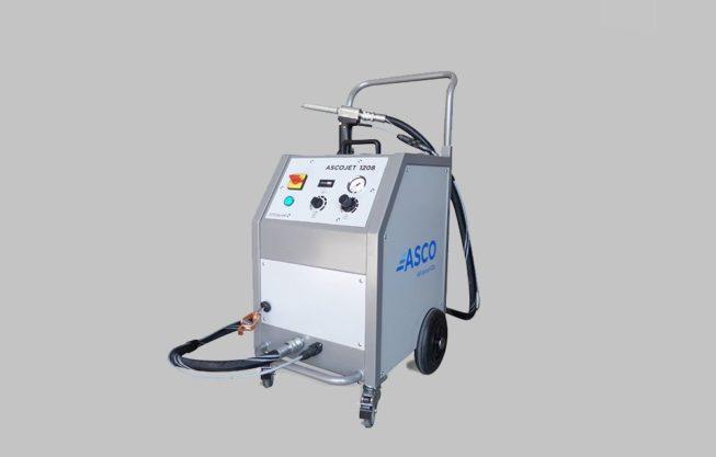 Μηχανή παγοβολής ξηρού πάγου ASCO | Dry Ice Creation